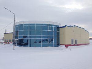 Офисное здание из металлоконструкции