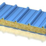 Кровельные сэндвич панели. Утеплитель: ПИР, ППУ, минеральная вата.