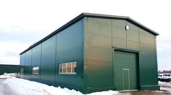 Здание из металлоконструкций, цех из металлоконструкции