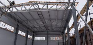 Здание из металлоконструкций